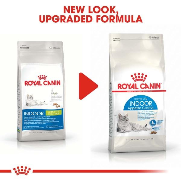 ROYAL CANIN INDOOR Appetite Control Trockenfutter für übergewichtige Wohnungskatzen
