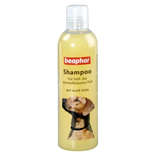 beaphar Hunde Shampoo für hell- bis dunkelbraunes Fell 250ml