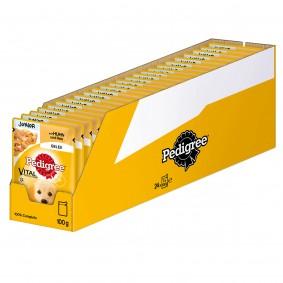 Pedigree Junior mit Huhn und Reis in Gelee