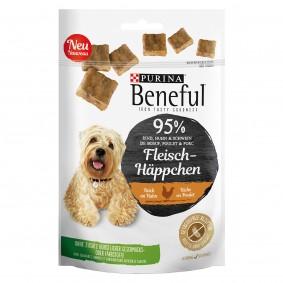 BENEFUL Fleisch-Häppchen Huhn Hundesnack Beutel