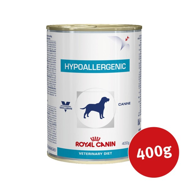 royal canin vet diet nassfutter hypoallergenic bei zooroyal. Black Bedroom Furniture Sets. Home Design Ideas