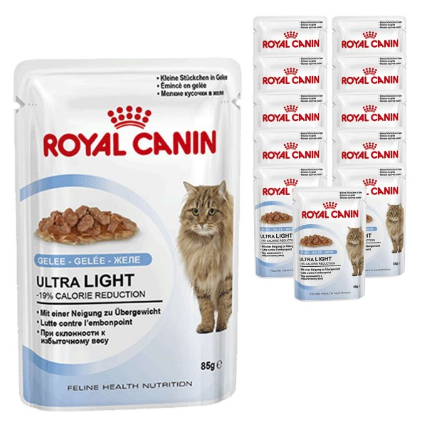 Royal Canin Katzenfutter Ultra Light in Gelee 12x85g