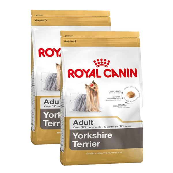 Royal Canin Hundefutter Yorkshire Terrier Adult 2x7,5kg