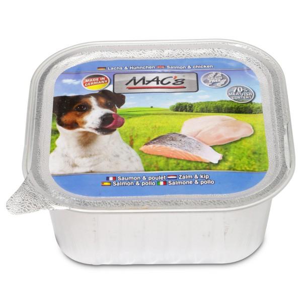 Mac´s Dog Lachs & Hühnchen - 11x150g