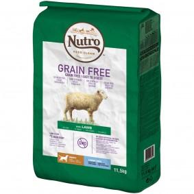 Nutro Grainfree Junior für große Hunde Lamm