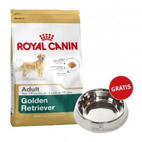 Royal Canin Golden Retriever Adult 12kg + Edelstahlnapf silber gratis