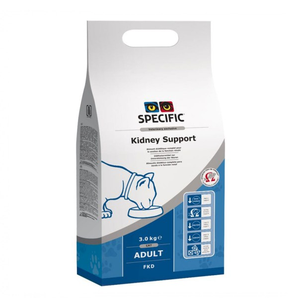 Specific Cat FKD Kidney Support 3x3kg