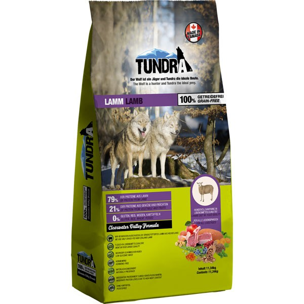 Tundra Trockenfutter Lamm - 750g