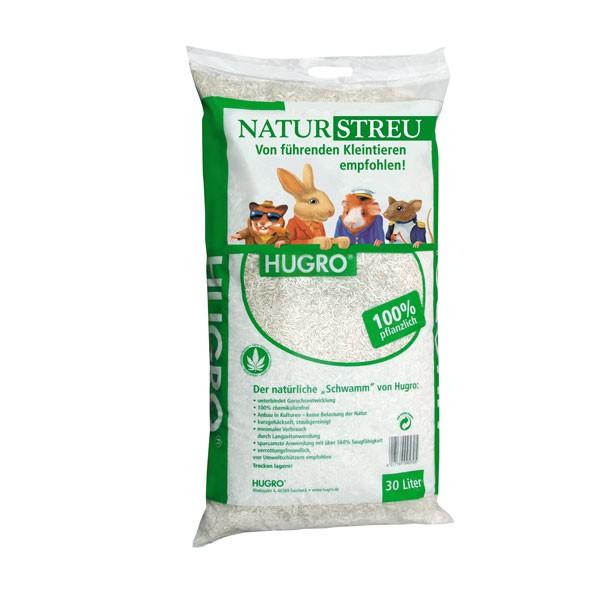 Haustier Angebot: Hugro Naturstreu für Nager 100% pflanzlich – 30 Liter