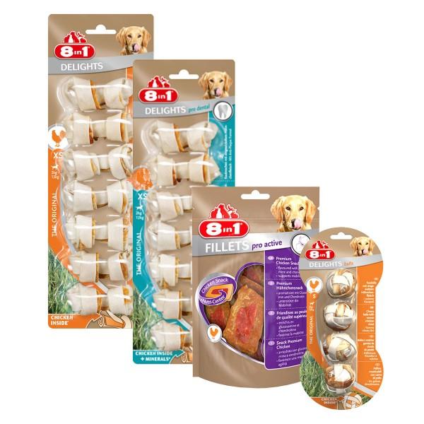 8in1 Probierpaket für kleine Hunde