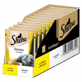 Sheba Selection in Sauce mit Huhn