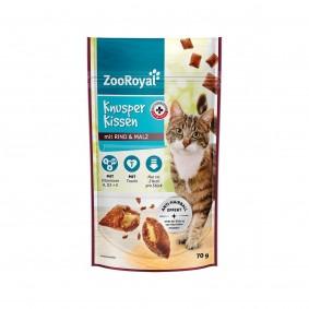 ZooRoyal Knusperkissen mit Rind und Malz