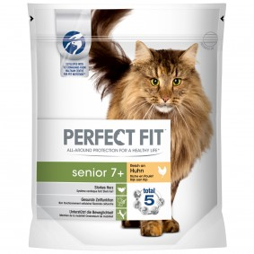 Perfect Fit Katzenfutter Senior 7+ reich an Huhn
