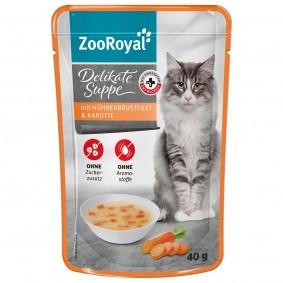 ZooRoyal Delikate Suppe mit Hühnerbrustfilet und Karotte