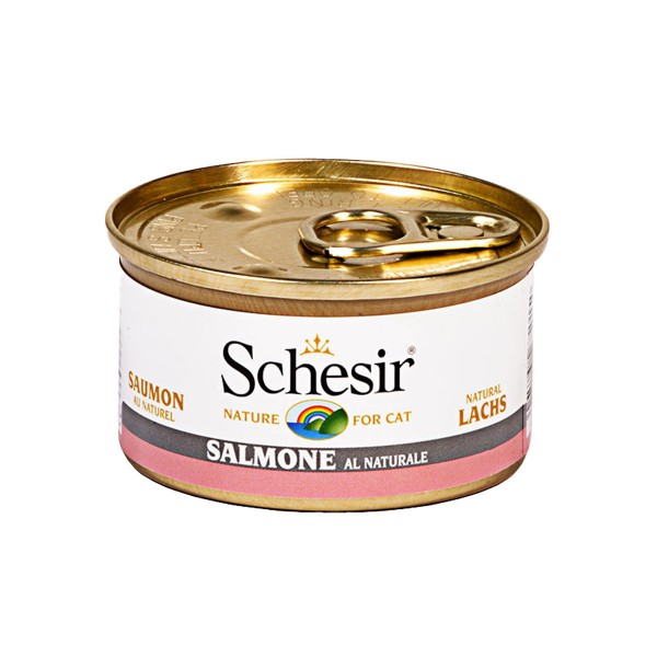 Schesir Cat Natural Lachs - 85g