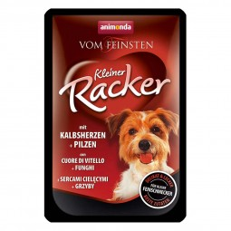 Animonda Hundefutter Vom Feinsten Kleiner Racker Kalbsherzen und Pilze