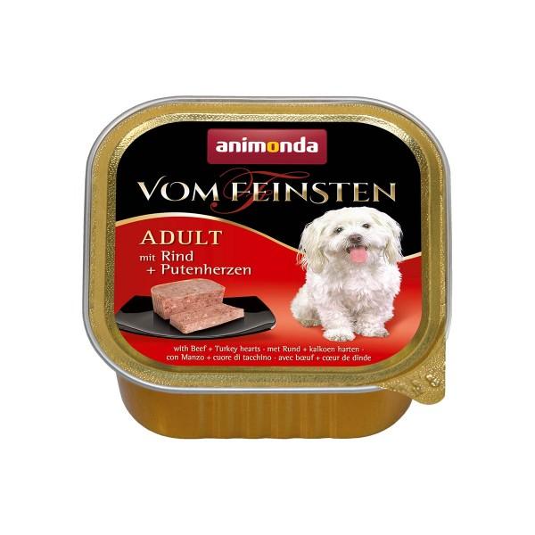 Animonda Hundefutter Vom Feinsten Adult Rind und Putenherzen