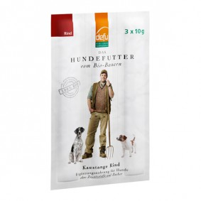 Defu Hundesnack Bio Kaustange Rind 30g (3x10g)