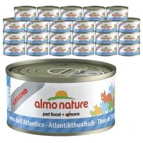 Almo Nature Legend Katzenfutter 24x70gAtlantik-Thunfisch 20+4 gratis