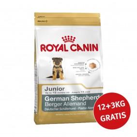 Royal Canin German Shepherd Junior  12kg+3kg Gratis!