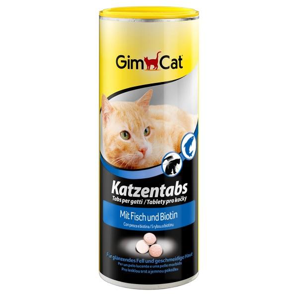 GimCat Katzentabs mit Fisch 350 Stück