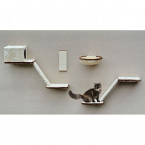 Silvio Design Katzen-Kletterwand 8-teilig