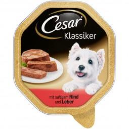 Cesar Klassiker mit saftigem Rind und Leber