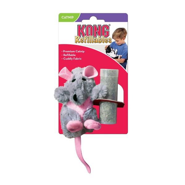 Kong Refillables - nachfüllbare Katzenminze-Spielzeuge - Rat