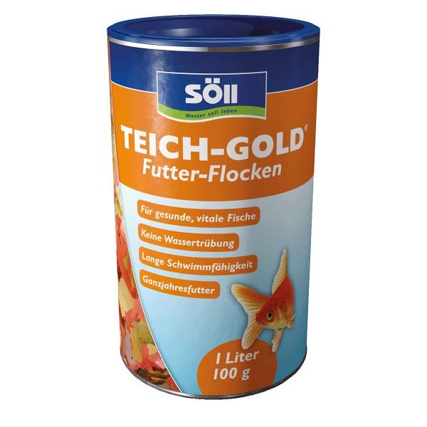Söll TEICH-GOLD Futter-Flocken