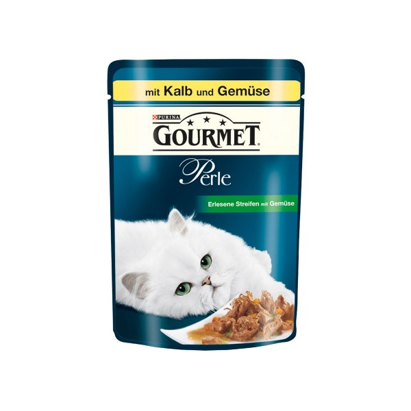 Gourmet Perle Erlesene Streifen mit Kalb & Gemuese