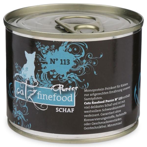 CATZ Finefood Purrrr No.113 Schaf 200g