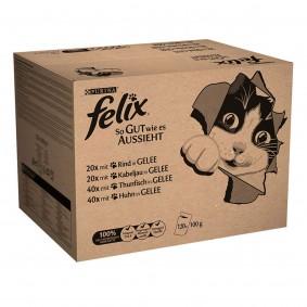 Felix So gut wie es aussieht Mix in Gelee 120x100g