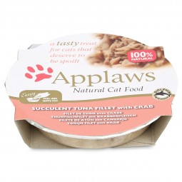 Applaws Cat köstlicher Thunfisch mit Krabbe