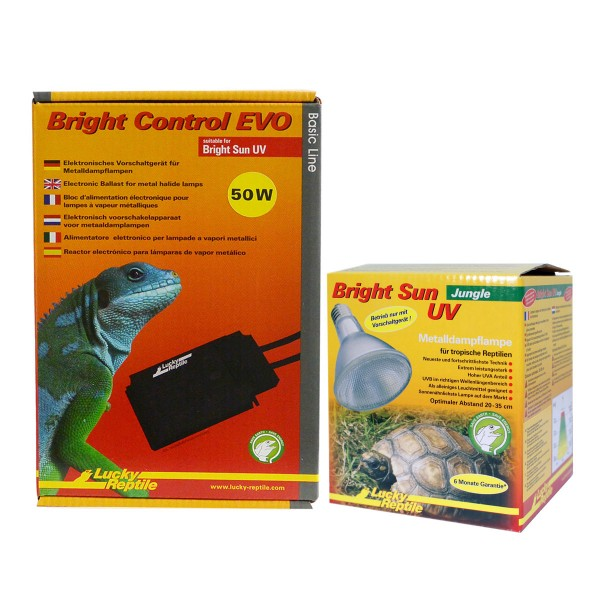 Lucky Reptile Bright Sun + Bright Control EVO Jungle 50 Watt