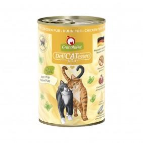 GranataPet pro kočky – DeliCATessen konzerva čisté kuřecí maso