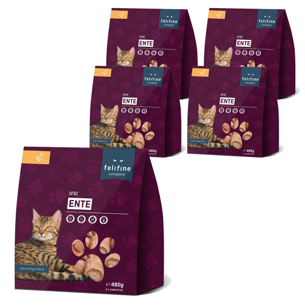 FeliFine Nuggets Ente complete 5x480g