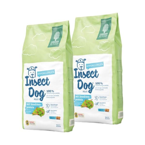 Green Petfood InsectDog hypoallergen 2x15 kg