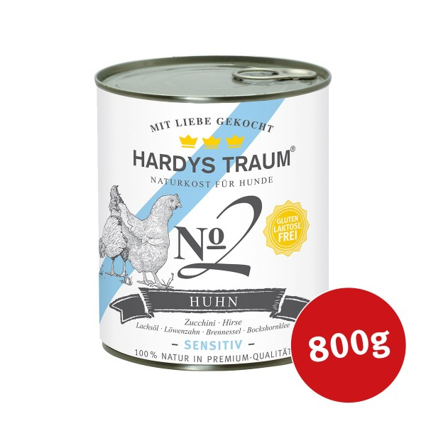 Hardys Traum Nassfutter Sensitiv No. 2 Huhn
