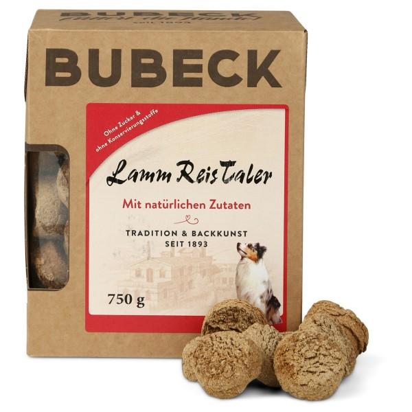 Bubeck Hundesnack Lamm Reis Taler 750g
