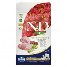 N&D Dog Quinoa Weight Management Lamb
