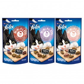 Felix Mini-Filetti Mixpaket 3x40g