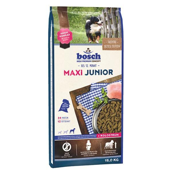 Bosch Hundefutter Maxi Junior - 15kg