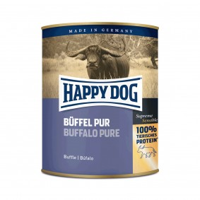 Happy Dog Pur Buffle - Aliment pour chiens 6 x 800
