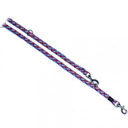 Trixie Reflektierende Leine 2,00 m blau/rot