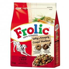 Frolic Trockenfutter Saftig & Knusprig 3kg