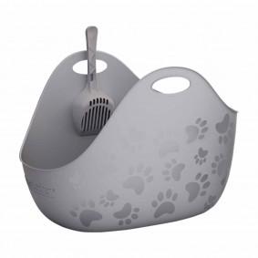 LitterLocker® LitterBox toaleta pro kočky šedá