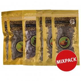 O'Canis Katzensnack Schlemmer-Tatzen Mixpaket 6x30g