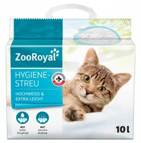 ZooRoyal Hygienestreu hochweiss & extra leicht