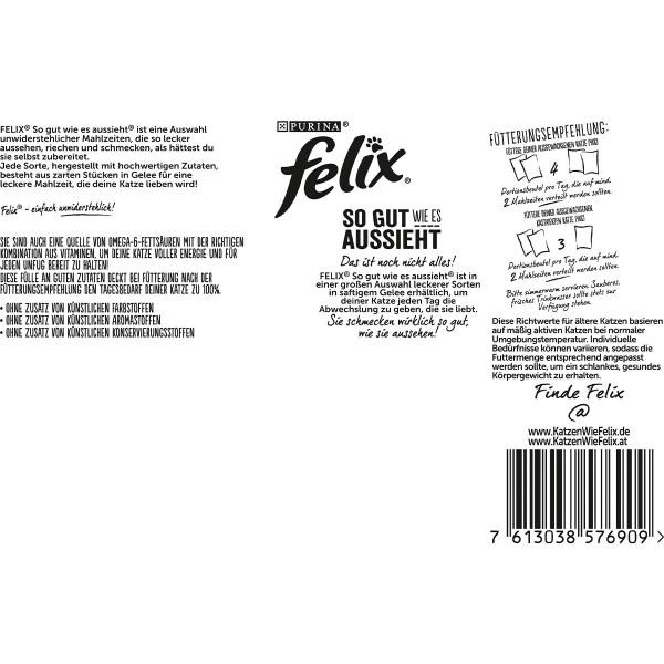 FELIX So gut wie es aussieht in Gelee Gemischte Vielfalt 120x85g