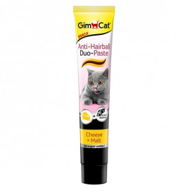 GimCat Anti-Hairball Duo Paste Käse + Malz 50g